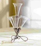 Fluted Vase Certerpiece